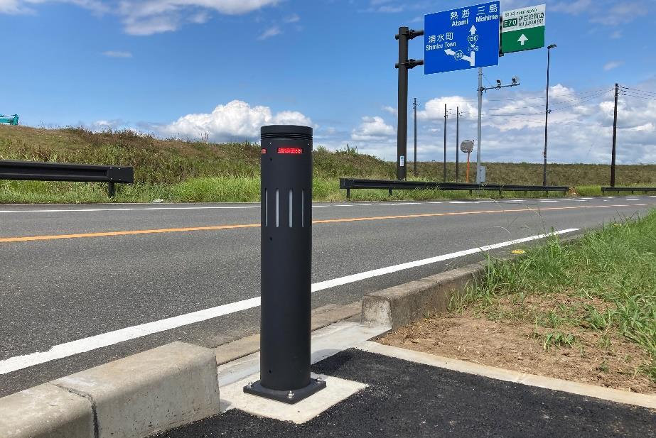 静岡県、道路の冠水状況を検知するボラードの実証実験|新・公民連携最前線|PPPまちづくり