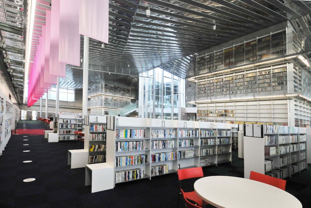 交流拠点としての図書館を整備、野々市市|新・公民連携最 ...
