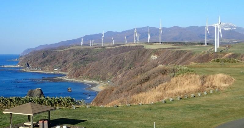 Jパワー、せたな町に50MWの風力稼働、3.2MW機採用